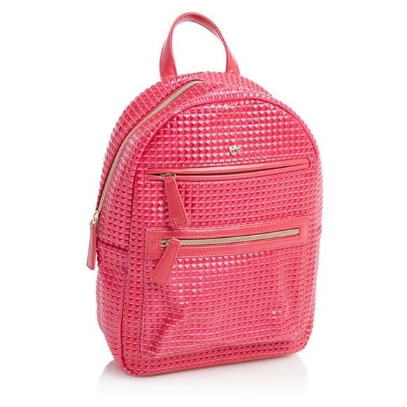 b9b4bf883d Nicki Minaj Pink Gold Studded Backpack